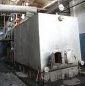 Agro Waste Fired 14 TPH Membrane Wall Steam Boiler IBR Approved