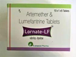 Lornate-LF Artemether & Lumefantrine Tablets, 10x1x6, Prescription