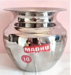 Tanishka Stainless Steel Madhu Lota