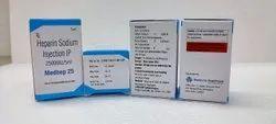 Heptin Sodium Injection 25000 Iu 5ml