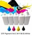 DTF Pigment Ink CMYK and White, 100 ML and Litre