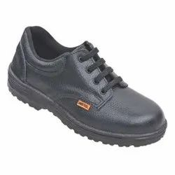 Unisteel-01 (PU) Black Unistar Footwears