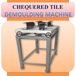 Chequered Tile Demoulding Machine