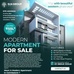 2 Bhk Flats Apartments In Coimbatore