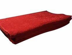 For Home Red Plain Floor Carpet