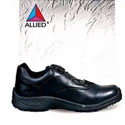 Allied Black T-727 II Occupational Footwear Wolverine Iron Steel, Size: 9