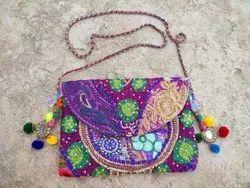 Multicolor Cotton Handmade Boho Banjara Bags