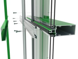 Aluminium Curtainwall Glazing