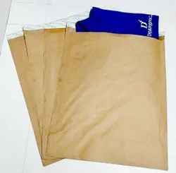 Brown Paper Courier Cover(80x10 Inch)Lip Lock