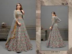 Rama Fashions Raazi Aroos 10047 Colors Dress