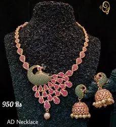 Ad Imitation Necklace set