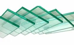 Transparent 12mm Toughened Safety Glass, Size: 6 x 4 Feet