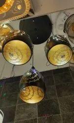 12 Watt Ceramic LED Hanging Pendant Light, For Restaurant, 3000-4000K