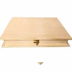 Rectangle Polished Wooden Jewelry Box