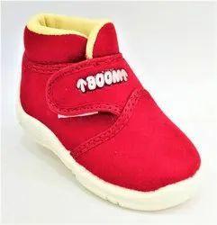 Canvas Daily wear Kids Footwear, Article: Boom - Cherry, Size: 5x10