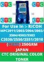 CTC COLOR TONER FOR Ricoh Toner Powder MPC2011