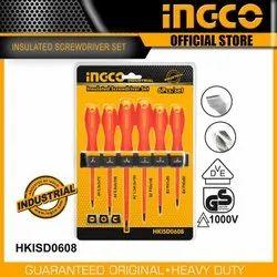 Ingco Insulated Nut Screwdriver Set 7 Pcs