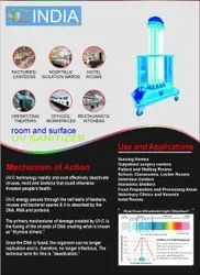 Surface & Air UV -360 Mobile  Disinfection Tower