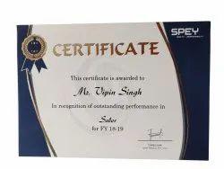 Corporate Certificate Printing Service, in Delhi Ncr