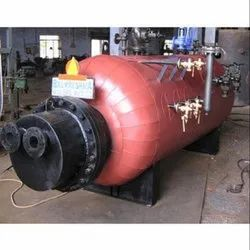 Solid Fuel Fired 1500 Mcal/hr Vertical Four Pass Hot Water Boiler