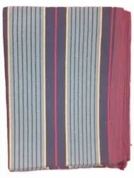 For Home Hand Weave Striped Cotton Dhurrie, Size: 40x40cm