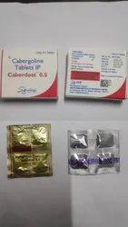 Cabergoline Tablets IP 0.5/0.25 mg