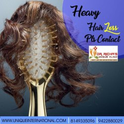 Heavy Hair Loss Please Contact