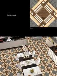 Digital Porcelain Floor Tiles, Thickness: 5-10 mm