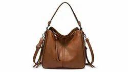 Regular Leather Ladies Handbags, For Office