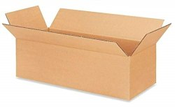 Double Wall 5 Ply Brown Corrugated Carton Box, 14.5x2.5x4.5