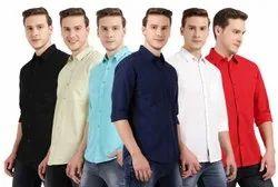 DJ Cotton Men Shirts