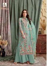 Ladies Printed Suits Dress Material