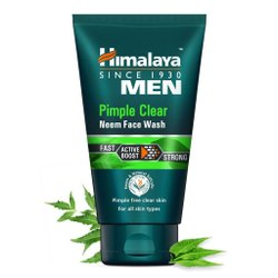 Green Himalaya Men Pimple Clear Neem Face Wash, Gel, Packaging Size: 100ml
