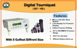 Single Port Digital Tourniquet Machine -105 With Cuffset Of 5