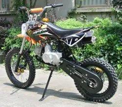 Black 125 CC Motocrost Bike