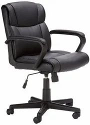 Black Revolving Office Chairs