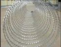 Double Helix Concertina Wire Fencing