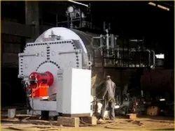 Oil & Gas Fired 2000 kg/hr Steam Boiler IBR Approved