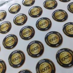 Epoxy Yoyo Dome Sticker, Packaging Type: Packet, Size: Custoized