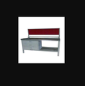 MS Table with 3 Drawer