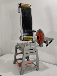 150mm x 1200mm Belt And Disc Sander With Casting Stand