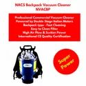 Backpack Vacuum Cleaner 220/110 Volt Commercial Grade Powered by Double Stage Italian Motor
