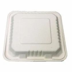 8 Inch Disposable Clamshell Tray