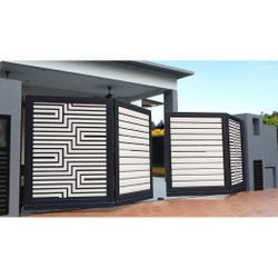 Mild Steel Folding Gate, For Home