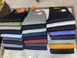 Slim Casual Plain Cotton Pants