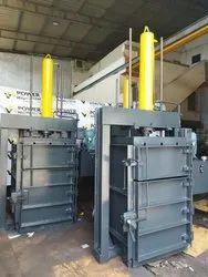 Single Box Paper Baling Press Machine