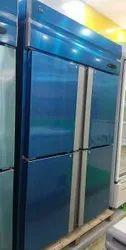 Silver 4 Door Vertical Chiller Or Frezeer