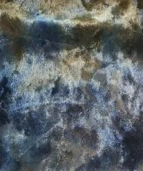 Tie Dye Print On Velvet