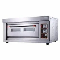 Single Electric Gas Pizza Oven 1 Deck 1 Tray