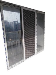 Aluminium Sliding Aluminum Glass Door, For Office, Thickness: 14mm